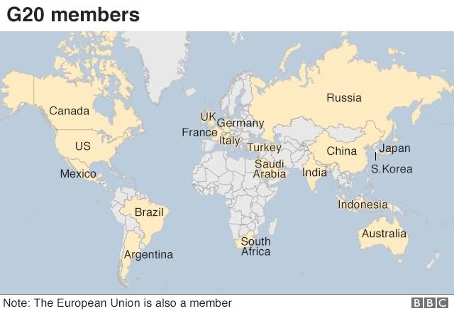 G20 members