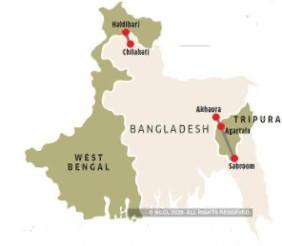 Chilahati in Bangladesh