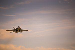 Super Hornet fighter